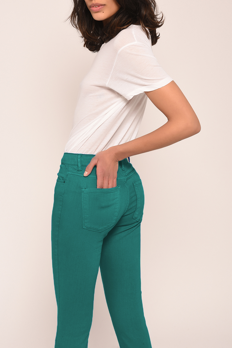 Cimarron Lisa Crop emerald