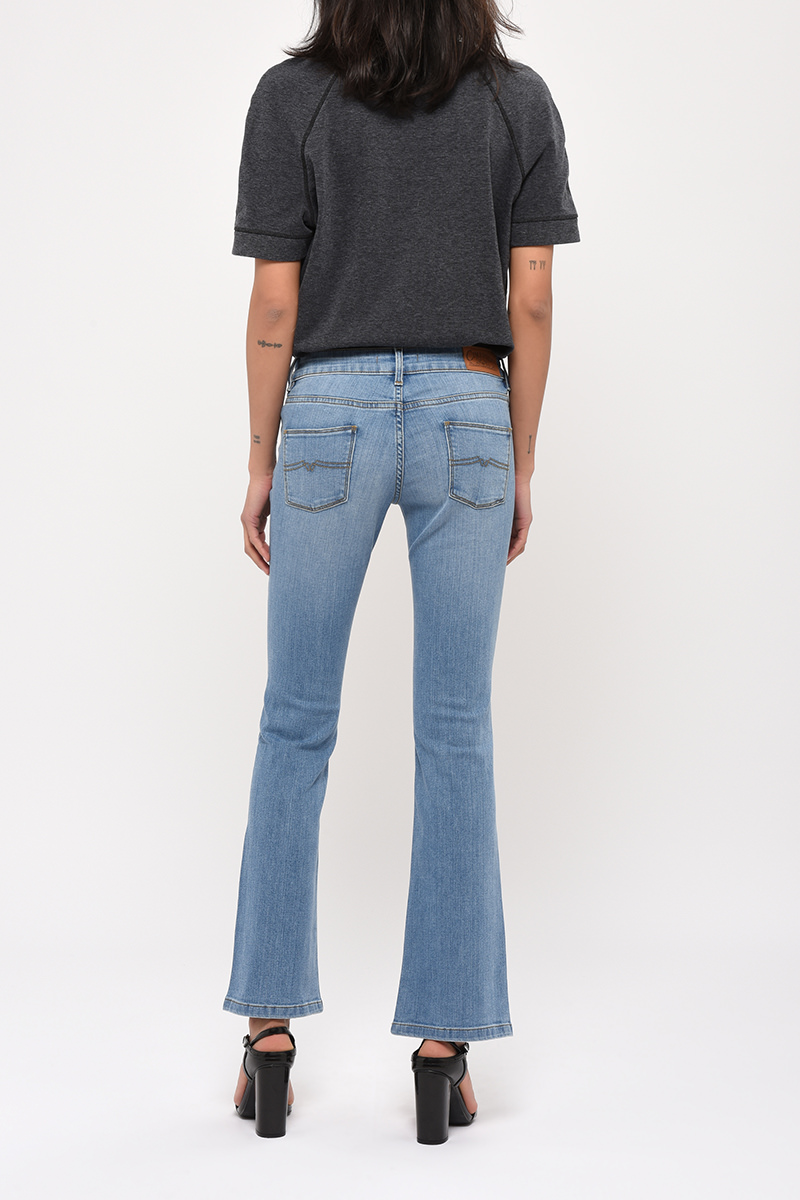 Jean Flare Gloria Denim Bleach