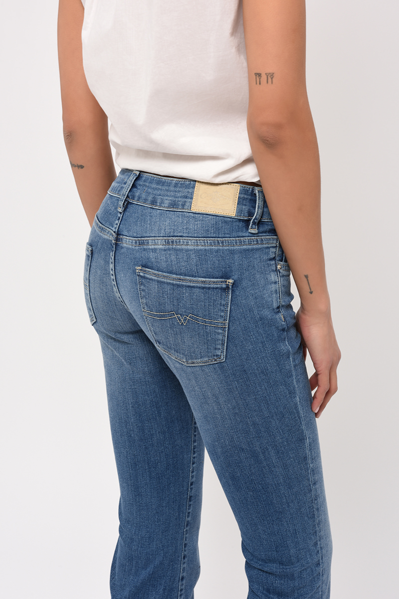 Jean Flare Gloria Denim Stone